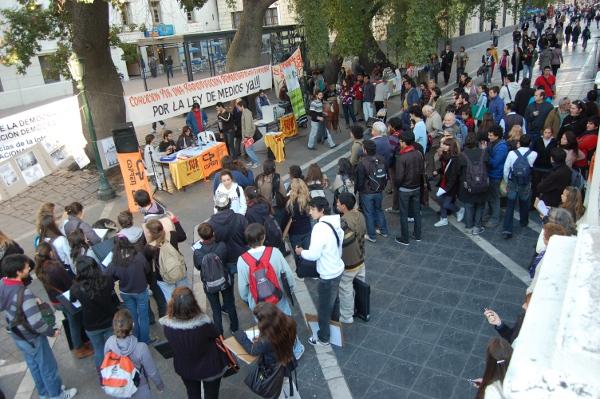 El debate por la ley de SCA en Córdoba