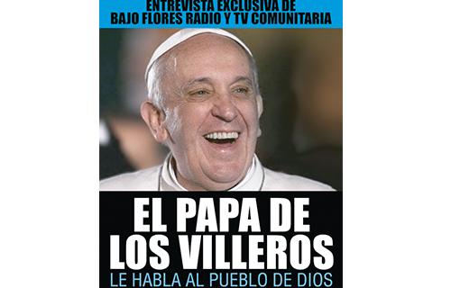 Bergoglio en Bajo Flores TV