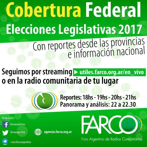 elecciones flyer